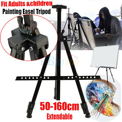 White Board Artist Extendable Field Studio Painting Easel Tripod Display Stand