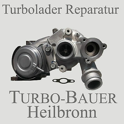 Turbolader Skoda	Superb	3T4	1.4 TSI	2008/07-2015/12	1390 ccm, 92 KW, 125 PS