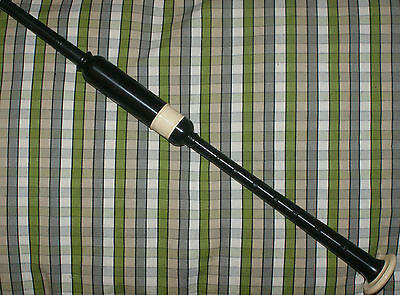 McCallum Standard size Practice Chanter imitation ivory sole and ferrule bagpipe