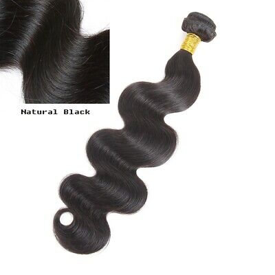 Indian Body Wave Real Virgin Human Hair Weave Wavy Remy Lovely Hair