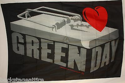 Green Day Mouse Trap Billy Joe Armstrong Cloth Fabric Poster Flag Tapestry-New!