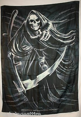 RARE OOP SPIRAL Tribal Reaper Textile Fabric Cloth Poster Flag Wall Banner New!!