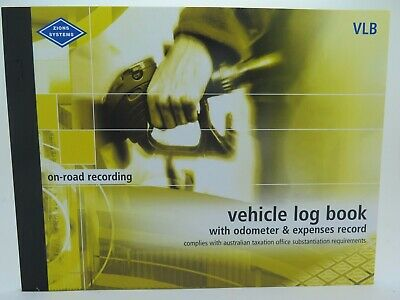 Zions Vehicle Log Book ATO Compliant 72P 190 x 250mm VLB