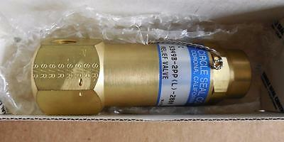 Brass Circle Seal 5300 Series Relief Valve 5349B-2PP (L) 2800