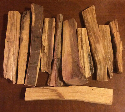 1 oz. Palo Santo Incense Sticks (Bursera graveolens) Organic Peru