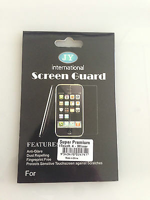JY International Screen Guard Super Premium iTouch 4-Mirror