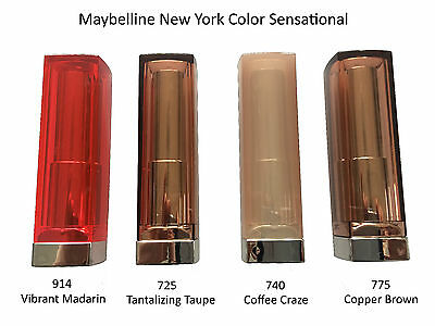 Maybelline Color Sensational Lippenstift Lipstick NEU *Farbauswahl*