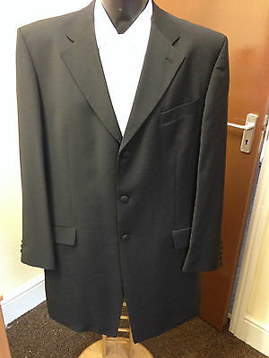 Mens Brook Taverner Black Lightweight Prince Edward Jacket / Morning Coat