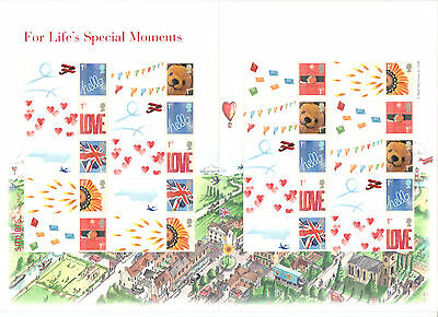 LS32 2006 For Life's Special Moments Royal Mail Generic Smilers Sheet