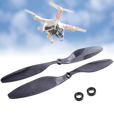 1 Pair 1045 Props Carbon 3K Twill Fibre CW CCW for DJI Quadcopter Propellers WT