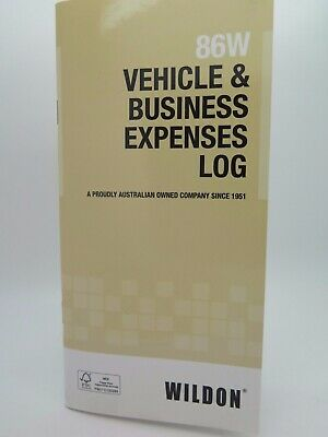 Wildon Vehicle & Business Expense Diary Log Book 86W WIL086*^