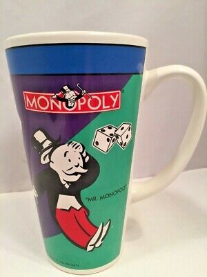 Monopoly Coffee Mug Full Color Wraparound Design