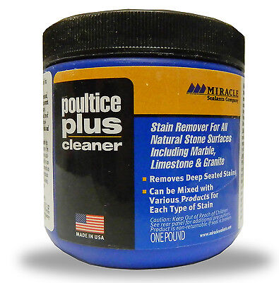 Poultice Plus - Miracle Sealants Company - Stain Remover