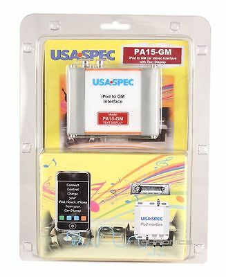 Usa Spec Pa15-Gm Ipod Iphone Interface For Select Gm Vehicle Factory Car Stereo