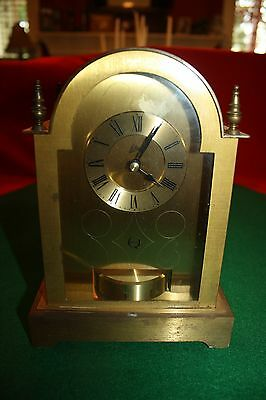 VINTAGE Schatz Quartz,Solid brass Carriage clock.