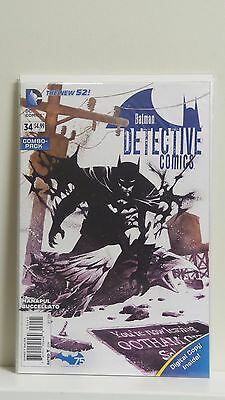 Detective Comics #34 Combo Pack 1st Print Nm 9.4 DC Comics New 52 2014 Batman