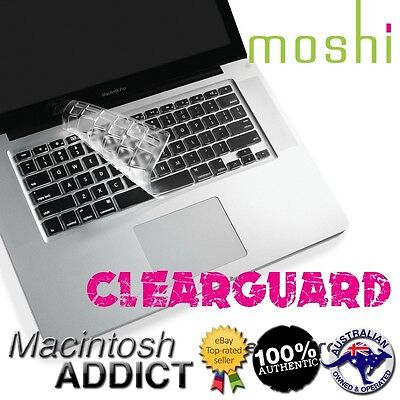 """Moshi ClearGuard MB Ultra Thin Keyboard Protector for 13"""" 15"""" MacBook Air /Pro"""