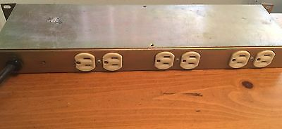 Pulizzi Engineering Santa Ana USA Vintage Zline AC Power controller TPC-115-8-A