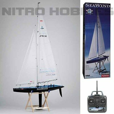 Kyosho 40463 Seawind Carbon Edition RTR Racing Yacht / Sailboat w/ KT-21 / Stand