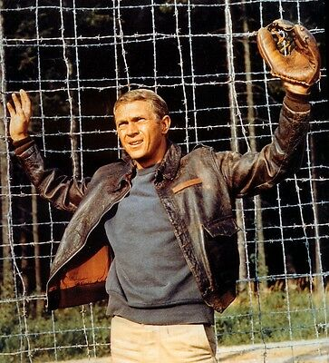 The Great Escape Steve Mcqueen As Hilts
