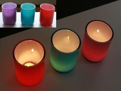 12 x Addison Tealight Holders 10cm bulk wholesale lot reduced to clear