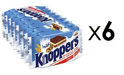Knoppers x6     48 Biscuits   07/16 Expiry