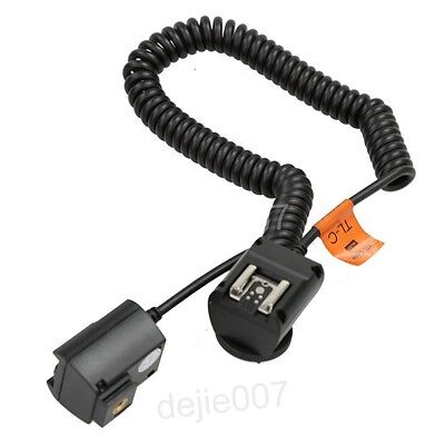 Godox TTL Off Camera TL-C Flash Speedlite 3m Shoe Cord for Canon DSLR 550D 6D 7D