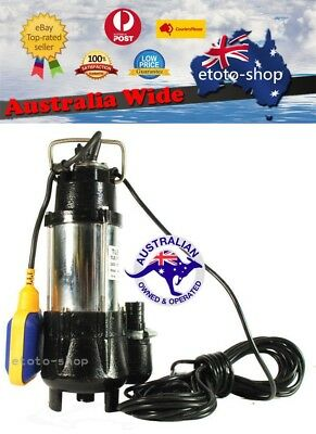Submersible Vortex Sump Pump - Premium Dirty / Grey Water, Sewerage Water Pump