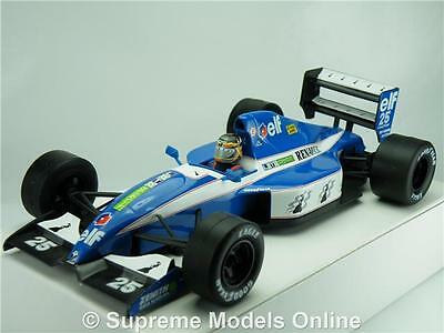 Ligier Renault Elf Js37 Car Model Formula 1 One 1:24 Size Racing Onyx 90's T34Z