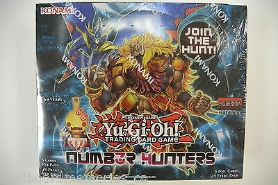 Yu-gi-oh! Yugioh Number Hunters Factory Sealed 1st Edition Booster Box