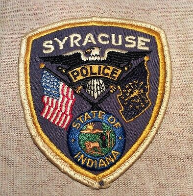 IN Syracuse Indiana Police Patch