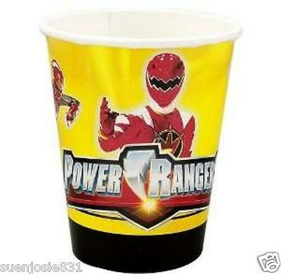 Power Rangers Mystic Force 9oz Hot Cold Paper Cups 8ct Party Supplies