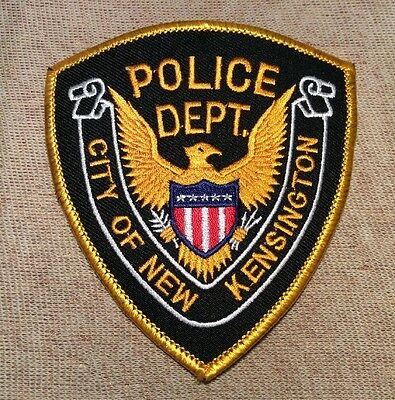 IN New Kensington Indiana Police Patch