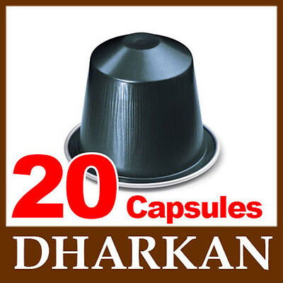 20 DHARKAN Nespresso Coffee Capsules / Pods *NEW INTENSITY 11*