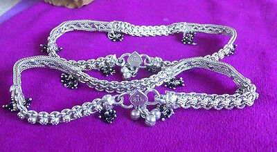 One Pair of 925 Sterling Silver Dancers Anklets