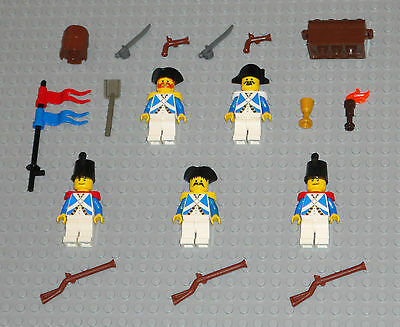 LEGO Minifigures 5 Imperial Soldiers People Swords Armada Guys Minifig Lot Toys