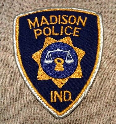 IN Madison Indiana Police Patch