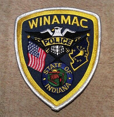 IN Winamac Indiana Police Patch