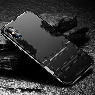 Armor Hybrid Shockproof Stand Cover Case For iPhone XS Max/XR/XS / Samsung S7