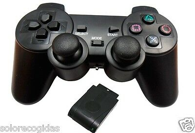 Mando Pad Gamepad Para Ps2 Play 2 Inalambrico Vibracion Play Station Play2 Ps 2