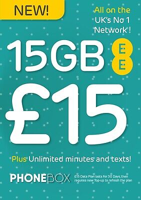 Ee - T-Mobile Pay As You Go Sim Card- Includes Standard, Micro & Nano Sim
