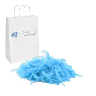 2yd Turquoise Feather Boa Birthday Bachelorette Party Wedding Event Decoration