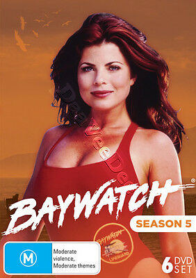 Baywatch - Season 5 NEW PAL/NTSC Cult 6-DVD Set Yasmine Bleeth David Hasselhoff