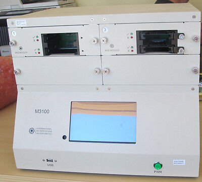 INTERNATIONAL MICROSYSTEMS INC. M3100 SATA & SAS DUPLICATOR With Manuals