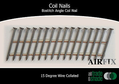 Coil Nails - BACN - Mechanical Gal - Smooth - Length: 50mm x 2.5mm - Box: 9,900