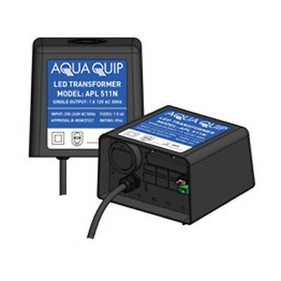 Aquaquip 12V x 30Va - Transformer for LED Pool Lights
