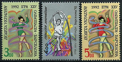 Ukraine 1992 SG#54-6 Olympic Games MNH Set #D4565