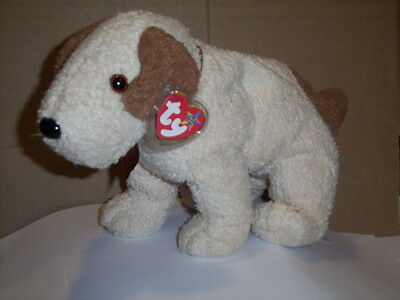 Retired Ty Beanie Buddy Rufus The Dog Mint With Tags Vhtf