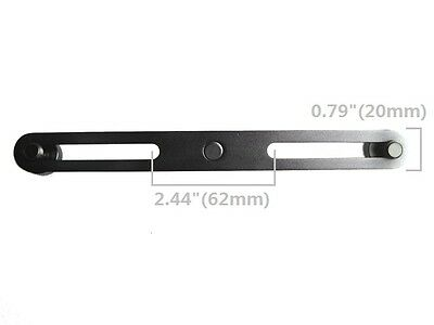 Microphone Stereo Bar T-Bar Thread Adapter Stand Mount Two Apart H50 Black