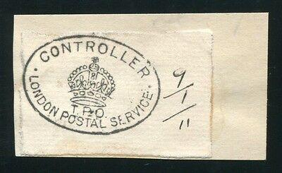 Gb Railways Travelling Post Offices London 1911 Specimen Strike